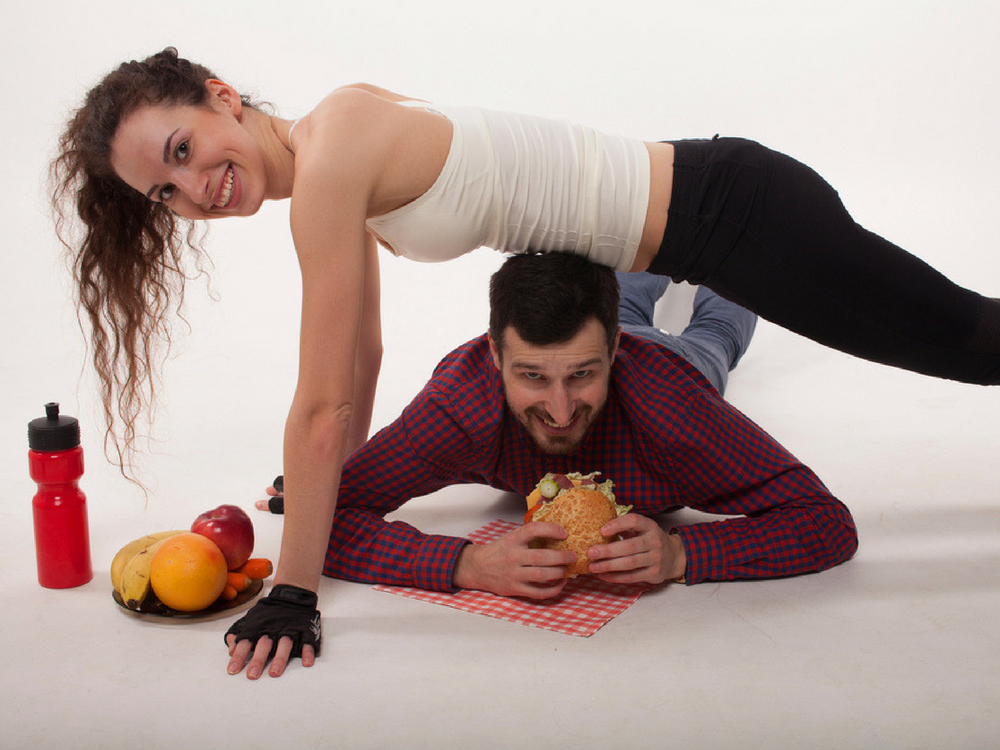 O efeito da atividade física no controle do apetite